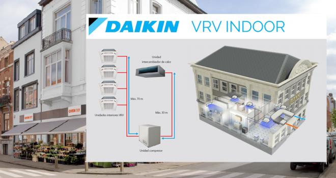 Nuevo Daikin VRV Indoor: Donde antes no se podía