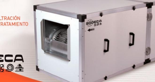 SODECA presenta las nuevas unidades de filtración UDT UDTX