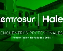 PRESENTACIÓN EN PRIMICIA DEL NUEVO CATÁLOGO DE AIRE ACONDICIONADO DE HAIER 2016 EN CÓRDOBA.